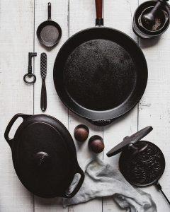 litinové nádobí